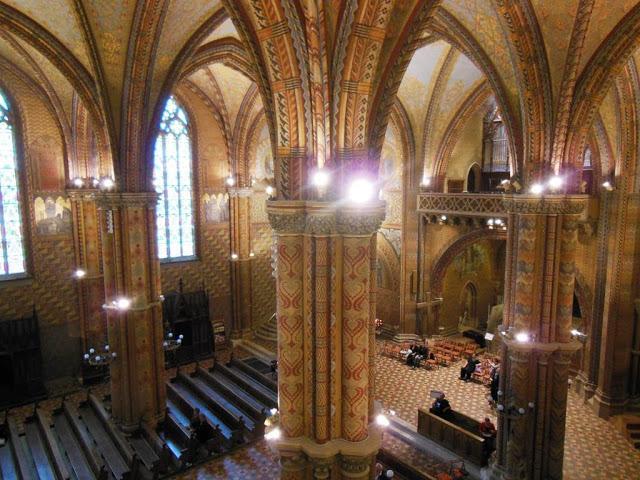 Budapest - Iglesia de Matías - Interior