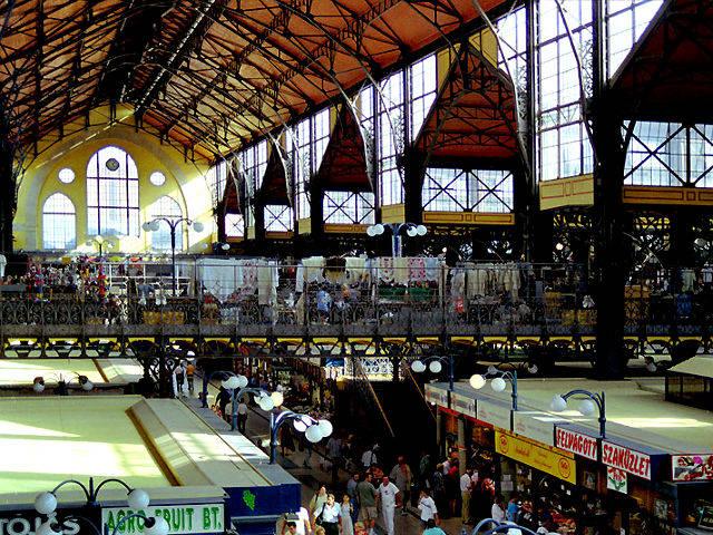 Budapest - Mercado Central - Interior