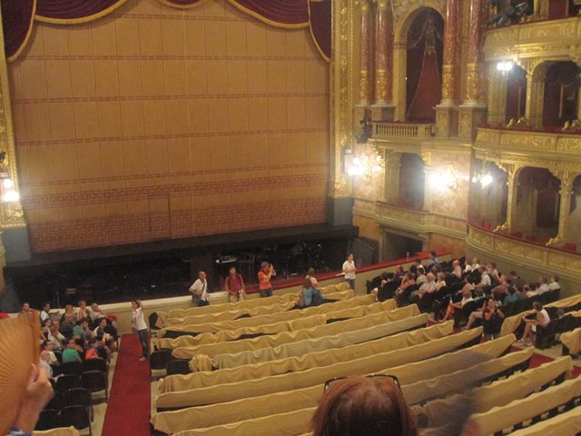 Budapest - Opera - Escenario