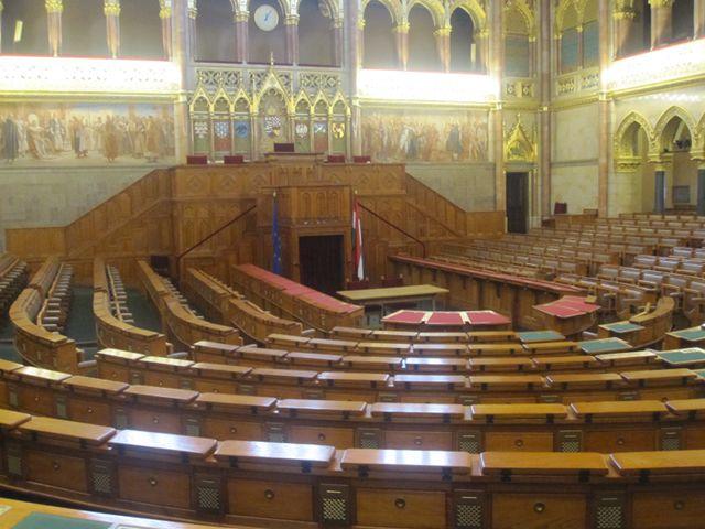 Budapest - Parlamento - Cámara