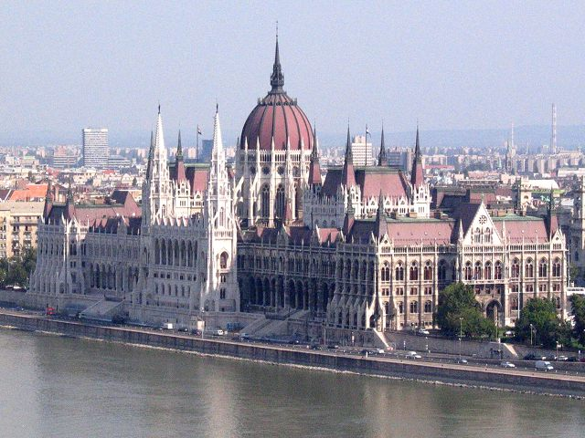 Visitar Budapest - Parlamento