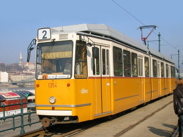 Budapest - Tranvía
