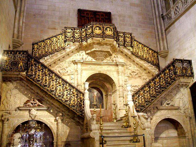 Conocer Burgos en 1 dia - Catedral - Escalera Dorada