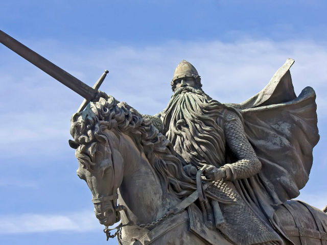 Burgos - Estatua Cid