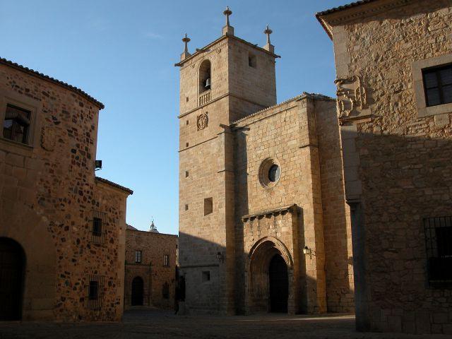Que visitar en Cáceres en un dia - Concatedral Santa María