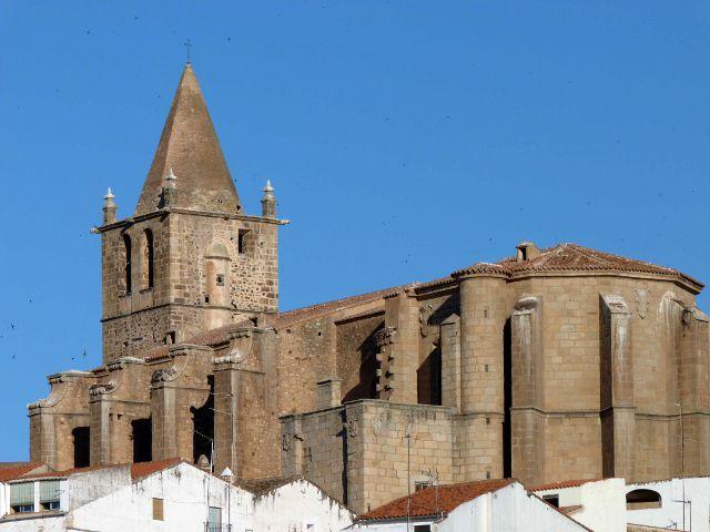 Caceres - Iglesia de Santiago