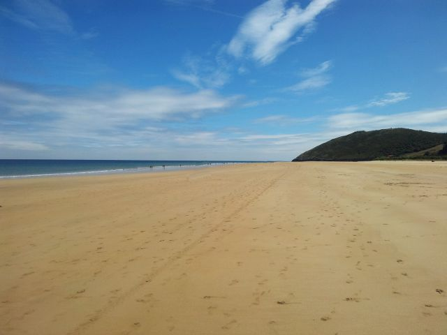 Cantabria - Playa Trengandin