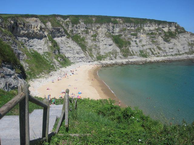Que visitar en Cantabria - Playa de Langre
