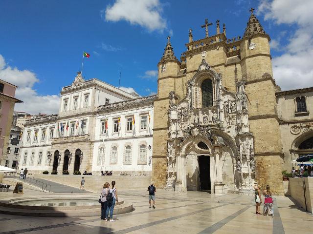 Visitar Coimbra en un dia - Iglesia Santa Cruz