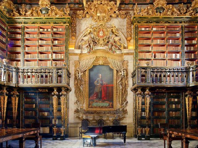 Coimbra - Universidad - Biblioteca Joanina