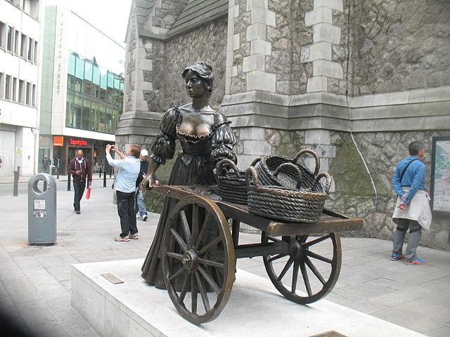 dublin-estatua-molly-malone