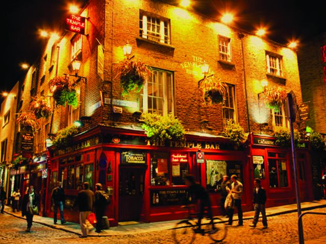 Que ver en Dublin - Temple Bar
