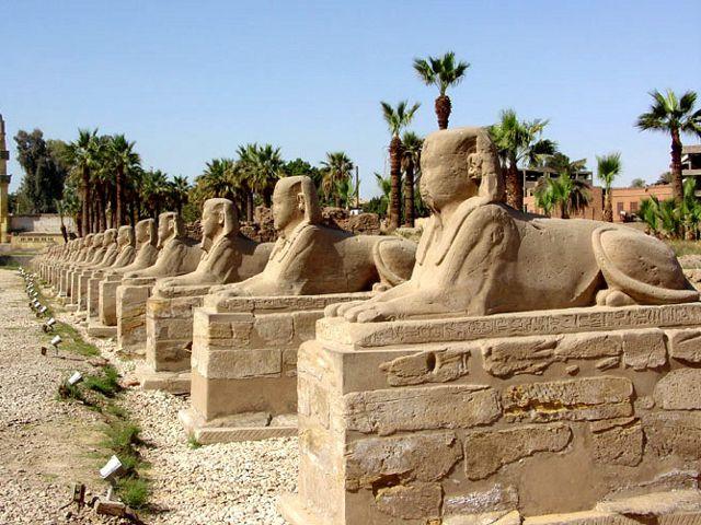 Egipto - Avenida de las Esfinges