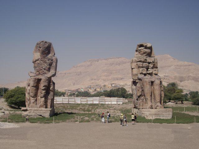Egipto- Colosos de Memnon
