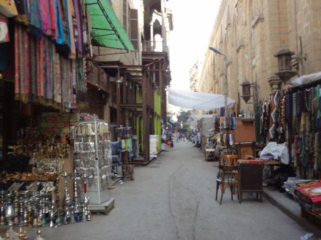 Khan el-Khalili y el arte del regateo. Café de los Espejos