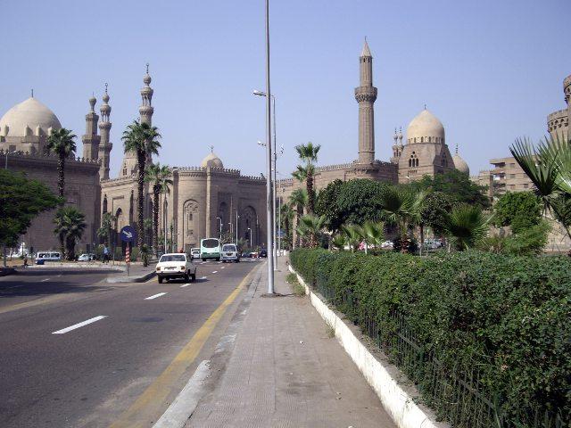 Egipto - El Cairo - Mezquita Hassan