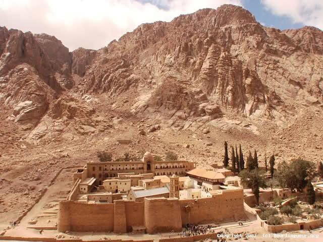 Egipto - Monasterio Santa Catalina
