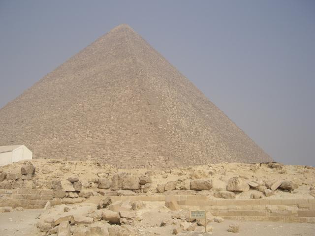 Las pirámides de Egipto. Gizeh: Keops, Kefren y Micerino