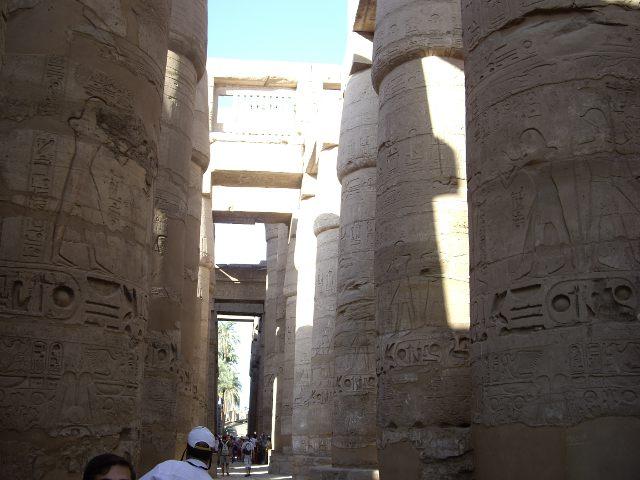 Egipto - Templo Karnak - Interior
