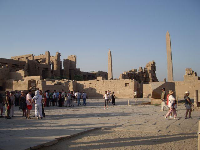 Egipto - Templo Karnak - Obelisco