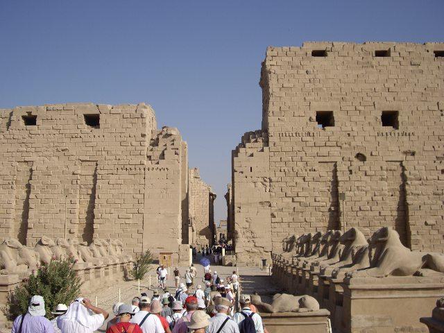 El Templo de Karnak. El más grande de Egipto