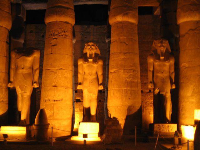 Egipto - Templo Luxor - Interior