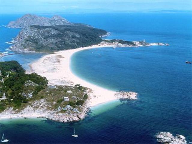 Galicia - Islas Cies - Playa Rodas