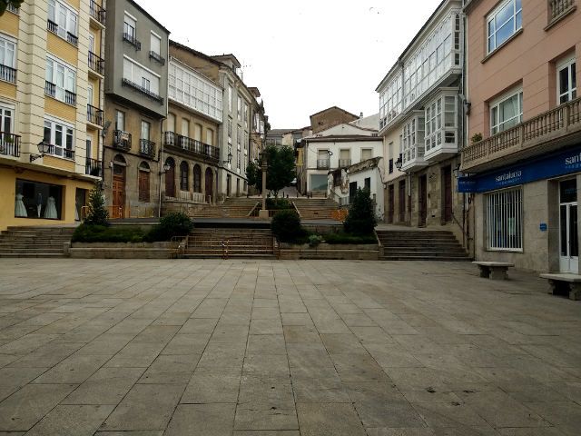 Galicia - Monforte de Lemos - Plaza España
