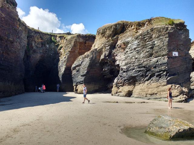Galicia - Playa Catedrales - Rocas