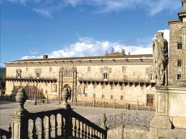 Galicia - Santiago de Compostela - Hostal Reyes Catolicos