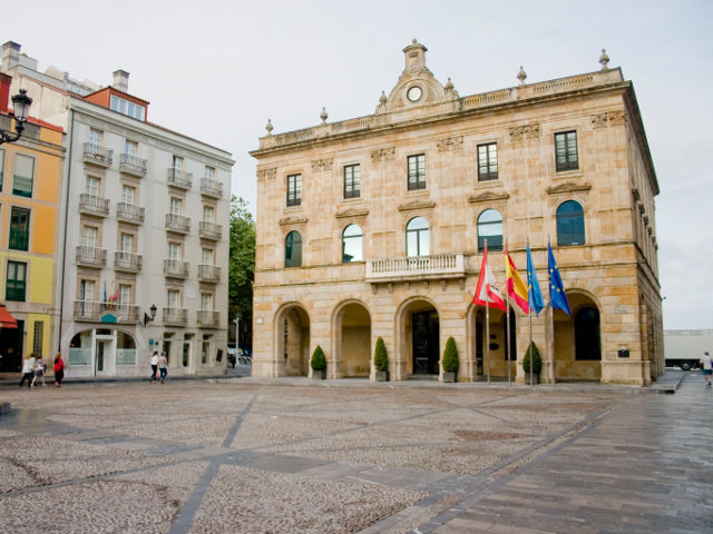 Que visitar en Gijon - Plaza Mayor
