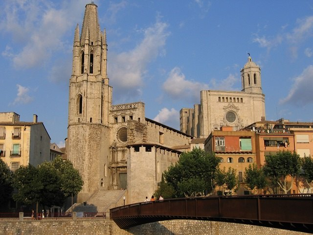 Visitar Girona - Basilica Sant Feliu