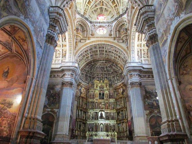 que hacer en Granada en 2 dias- Monasterio San Jerónimo - Interior