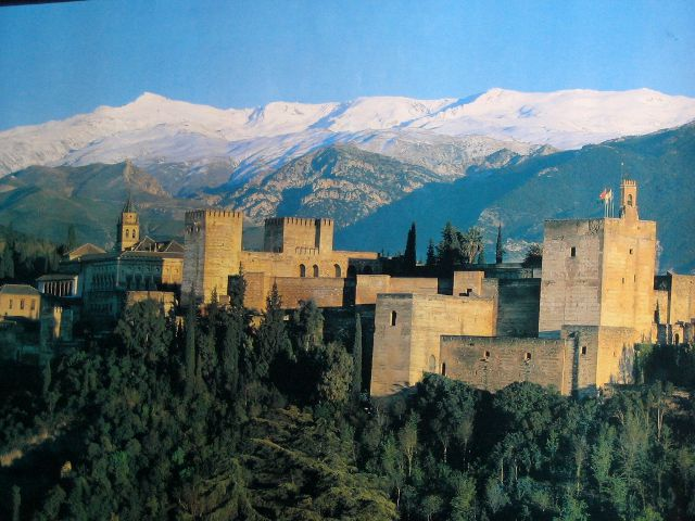 Granada - Sierra Nevada desde Alhambra