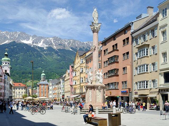 Los principales lugares que visitar en Innsbruck