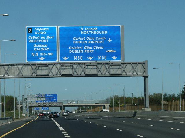 Irlanda - Autopista