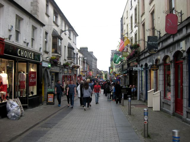 Irlanda - Galway - Shop Street