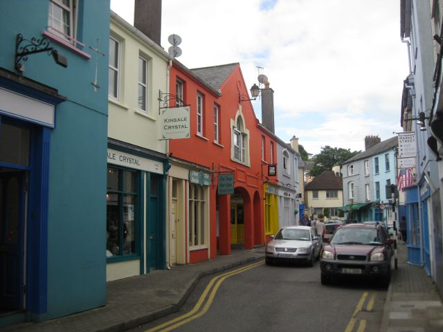 Irlanda - Kinsale - Casas