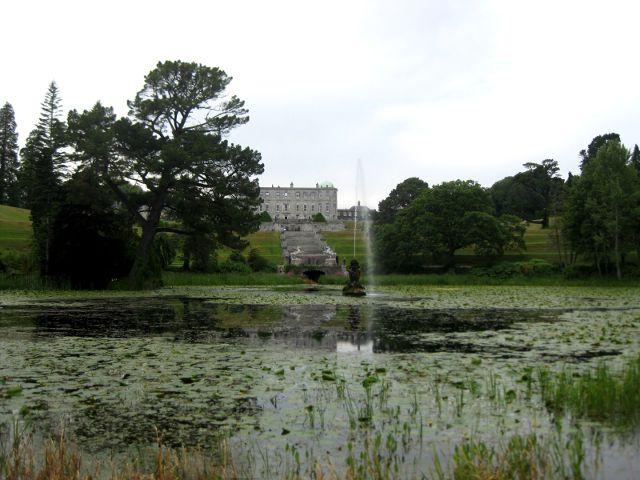 Irlanda - Powerscourt House - Fuente del Tritón