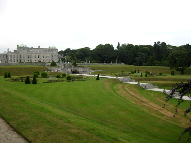 Irlanda - Powerscourt House - Mansión