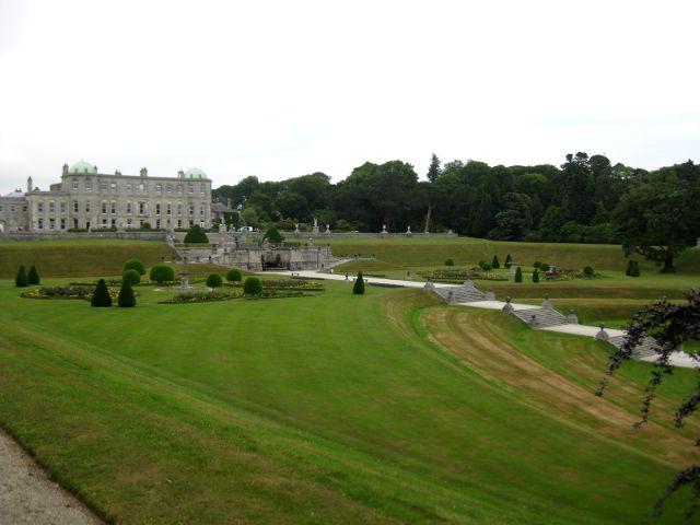 Irlanda - Powerscourt House - Mansión