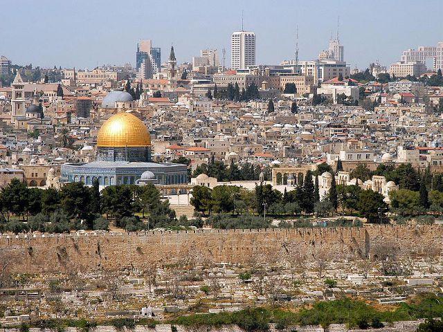 Jerusalen desde el Monte de los Olivos