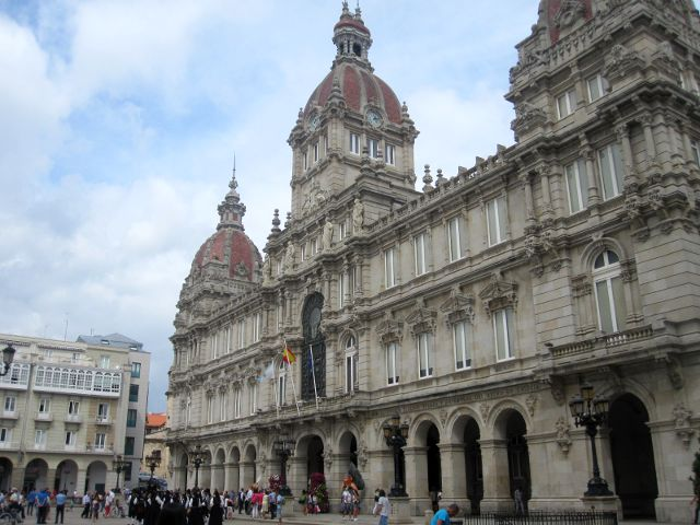 La Coruña - Plaza de María Pita