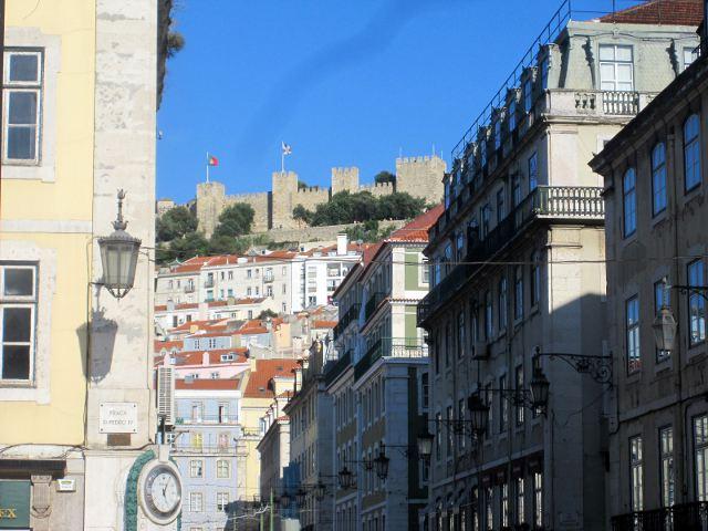 El Castillo de San Jorge. Vigilando Lisboa desde las alturas