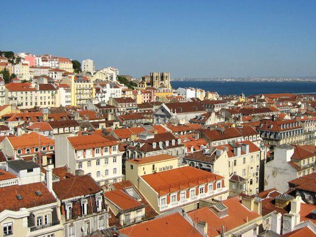 Lisboa - Elevador de Santa Justa - Mirador