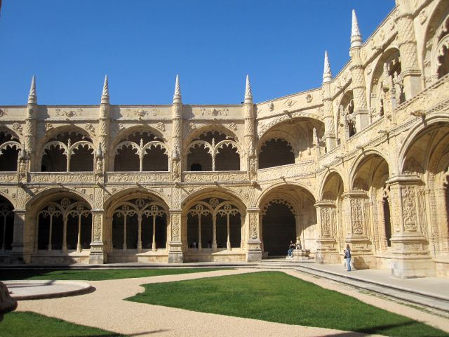 Lisboa - Monasterio de los Jerónimos - Claustro