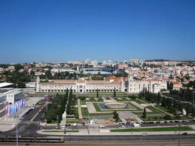 Lisboa - Monumentos Descubrimientos - Mirador