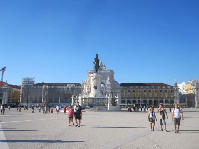 Que ver en Lisboa - Plaza del Comercio
