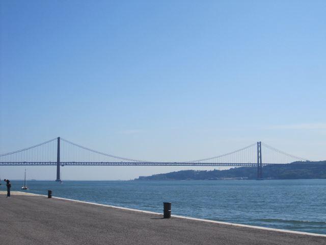 Los puentes de Lisboa: Vasco de Gama y 25 de Abril