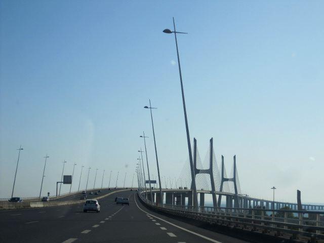 Lisboa - Puente Vasco de Gama
